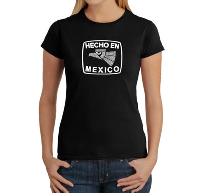 Los Angeles Pop Art Hecho En Mexico Graphic T-Shirt