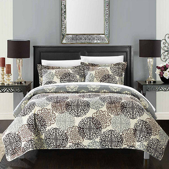 Chic Home Kelsie 7-pc. Reversible Quilt Set