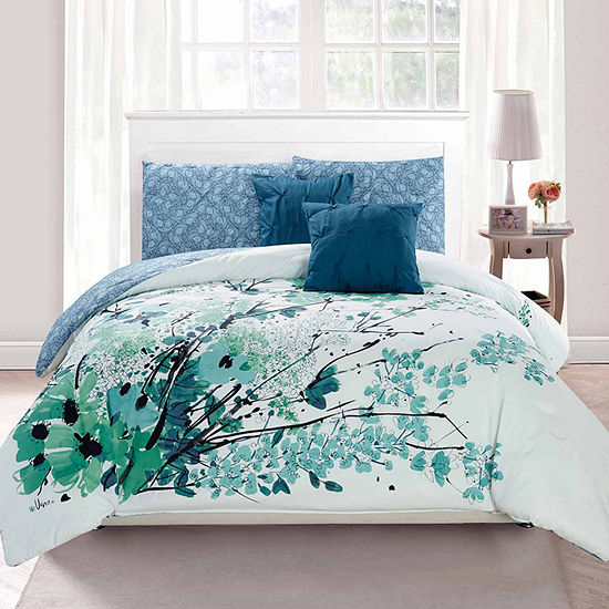 Vera Collyn 5 pc Comforter Set JCPenney