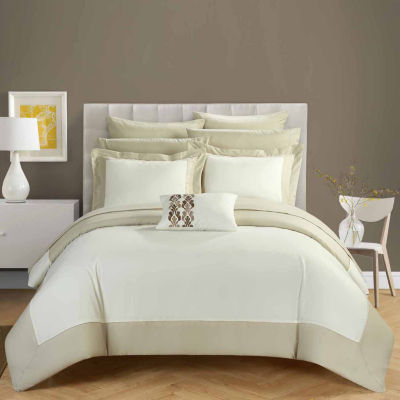 Chic Home Peninsula 10-pc. Midweight Reversible Comforter Set