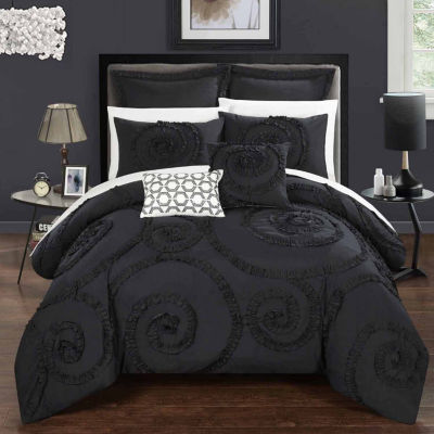 Chic Home Rosalia 7-pc. Midweight Comforter Set