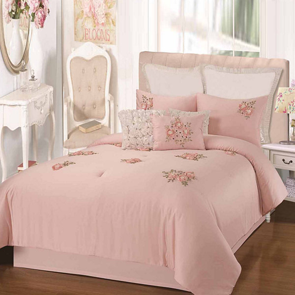 Chic Home Rosetta 9-pc. Midweight Comforter Set