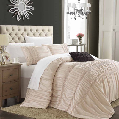 Chic Home Romantica 4-pc. Duvet Cover Set