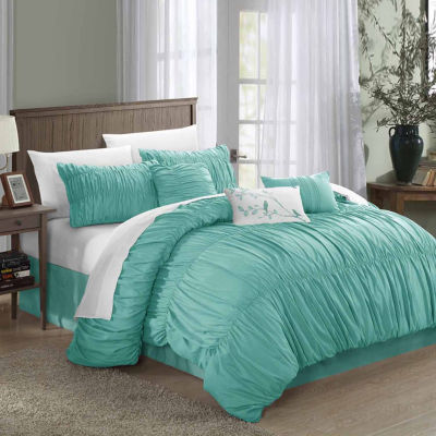 Chic Home Francesca 7-pc. Midweight Comforter Set
