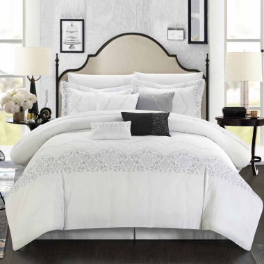 Chic Home Grace 8-pc. Midweight Comforter Set