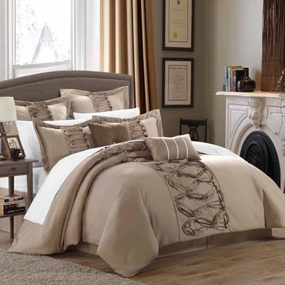 Chic Home Ruth 12-pc. Midweight Comforter Set