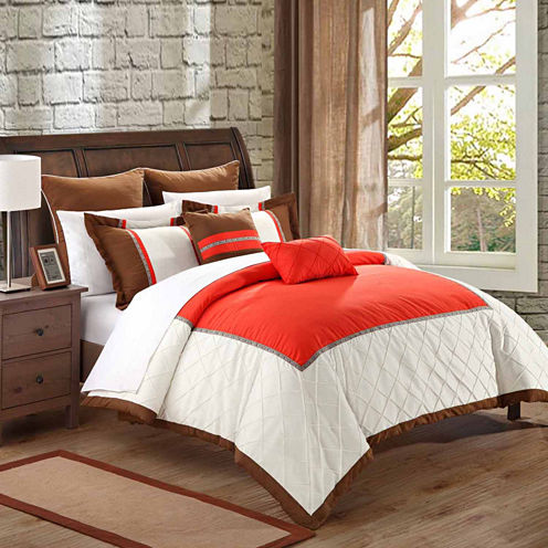 Chic Home Greensville 7-pc. Midweight Comforter Set