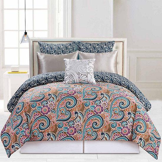 Duck River Leanna 6-pc. Comforter Set