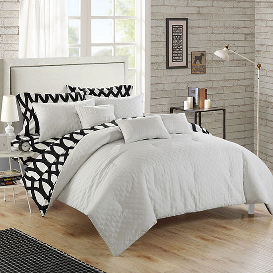 Chic Home Holland Midweight Embroidered Comforter Set
