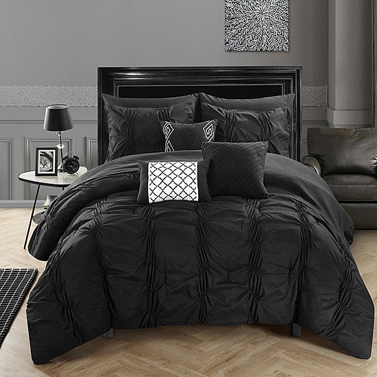 Chic Home Tori Set 10 Pc Midweight Comforter Set Jcpenney