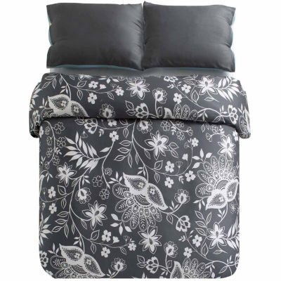 Kensie Kittery 3-pc. Duvet Cover Set