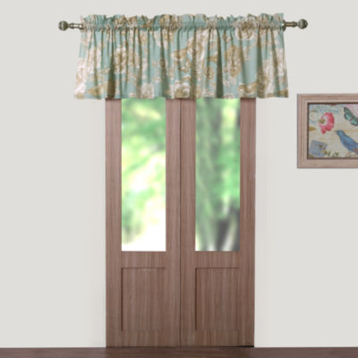 Barefoot Bungalow Naomi (Spa) Rod-Pocket Scallop Valance