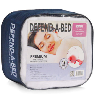 Defend-A-Bed Premium Waterproof Mattress Pad