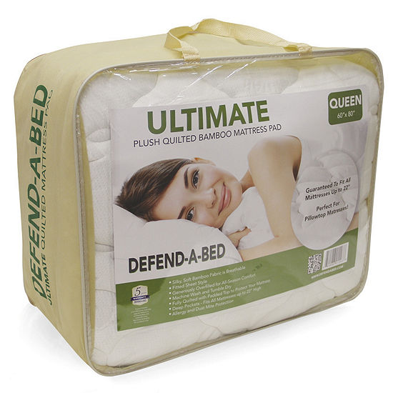 Defend-A-Bed Ultimate Rayon from Bamboo Quilted Waterproof Mattress Protector