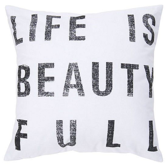 Decor 140 Full Square Throw Pillow