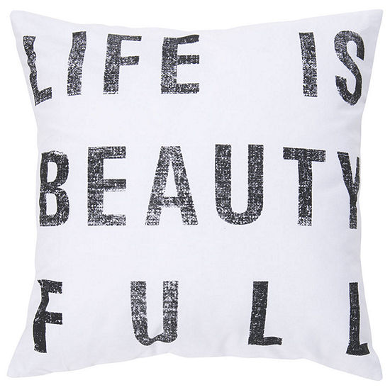 Decor 140 Full Throw Pillow Cover
