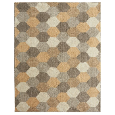 Mohawk Home Geo Board Rectangular Rugs