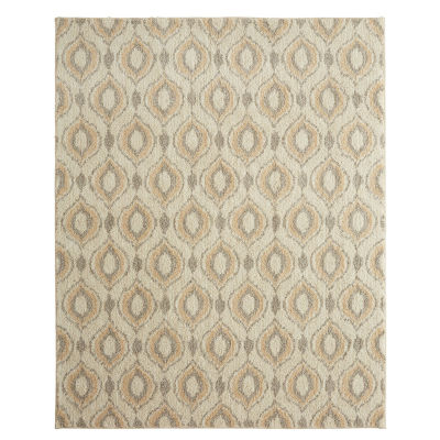 Mohawk Home Sketched Ogee Rectangular Rugs