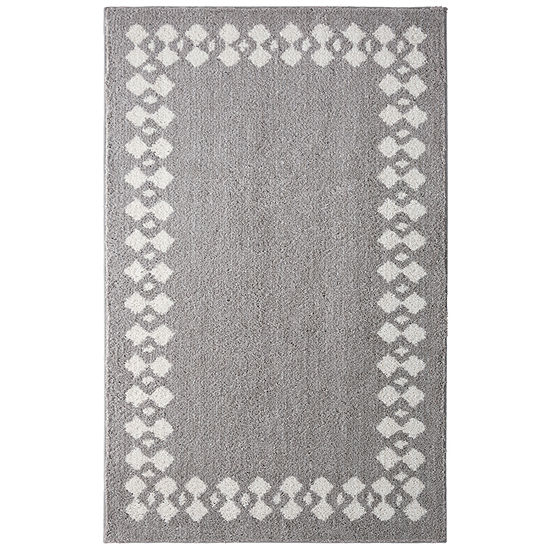 Mohawk Home Stacked Border Rectangular Indoor Rugs
