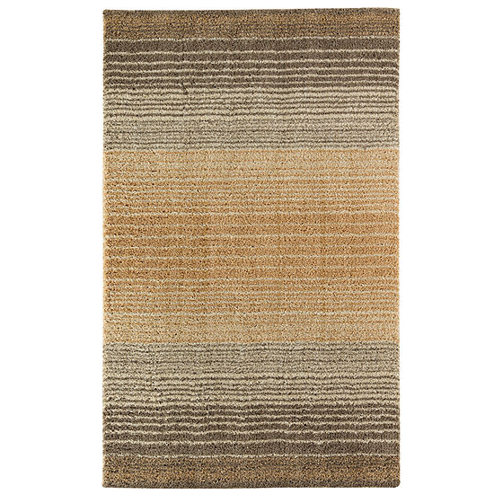Mohawk Home Stripe Shag Rectangular Indoor Rugs