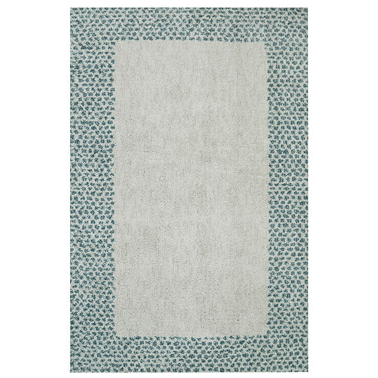 Mohawk Home Spotted Border Rectangular Indoor Rugs