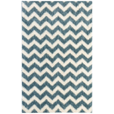 Mohawk Home Stitched Chevron Rectangular Rugs