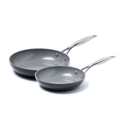 GreenPan Valencia Pro 2-pc. Aluminum Dishwasher Safe Frying Pan