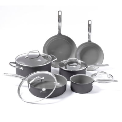 GreenPan Chatham 10-pc. Aluminum Dishwasher Safe Cookware Set