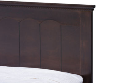 Baxton Studio Schiuma Bed