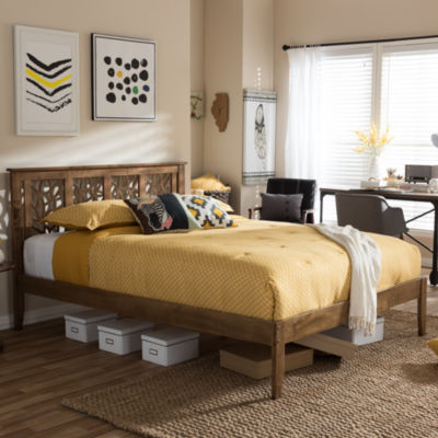 Baxton Studio Trina Tree Brand Inspired Platform Bed