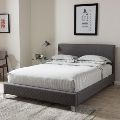 Baxton Studio Harlow Platform Bed