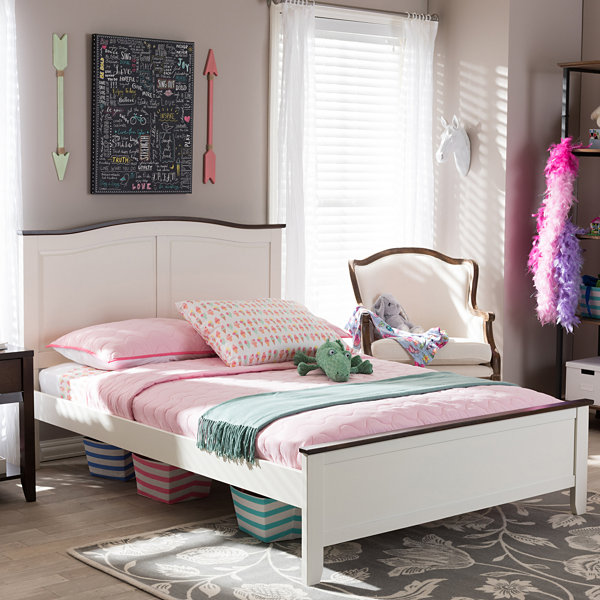Baxton Studio Harry Platform Bed