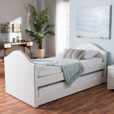 Baxton Studio Alessia Twin With Guest Trundle Daybed