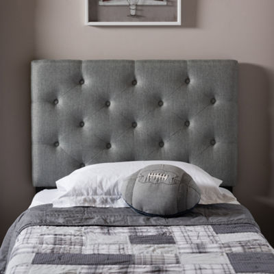 Baxton Studio Viviana Upholstered Button-Tufted Headboard
