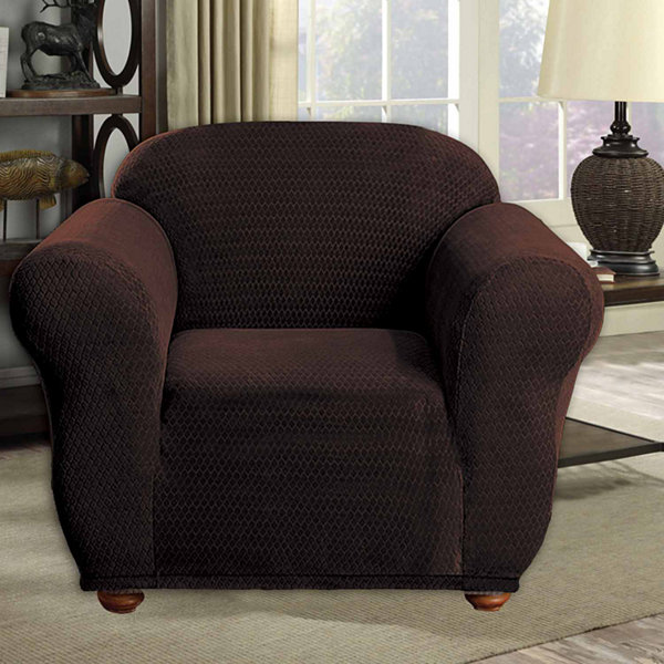 Duck River Hanover Stretch Velvet Chair Cover