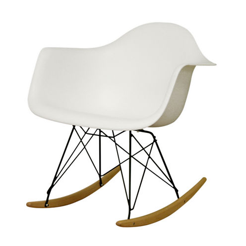 Baxton Studio Dario Rocking Chair