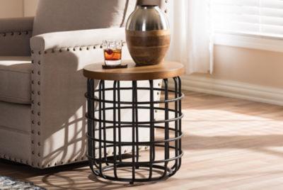 Baxton Studio Cari Chairside Table