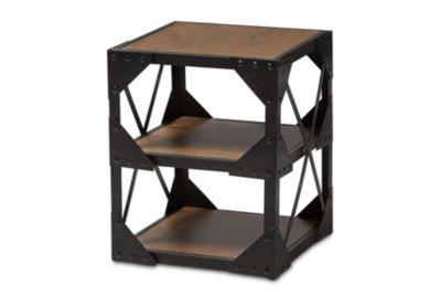 Baxton Studio Hudson Chairside Table