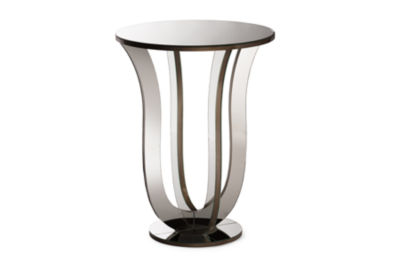 Baxton Studio Kylie Chairside Table