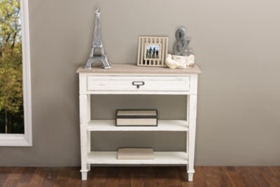 Baxton Studio Dauphine 1-Drawer Console Table