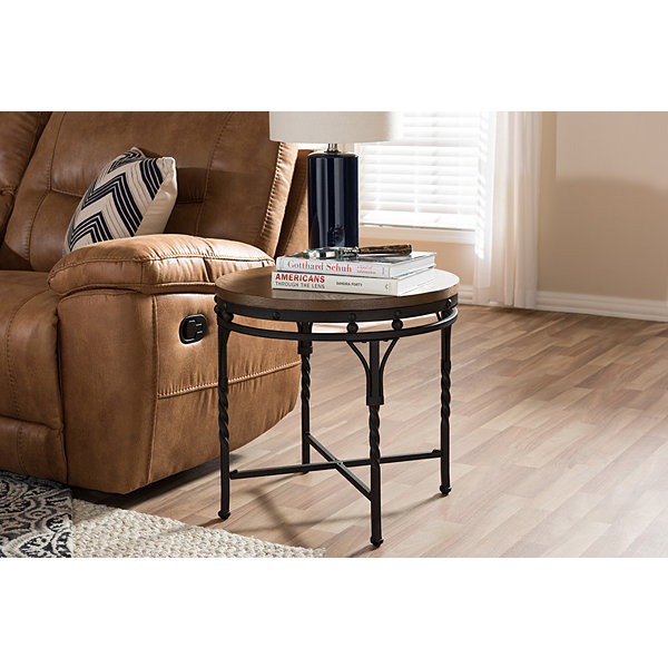 Baxton Studio Austin End Table