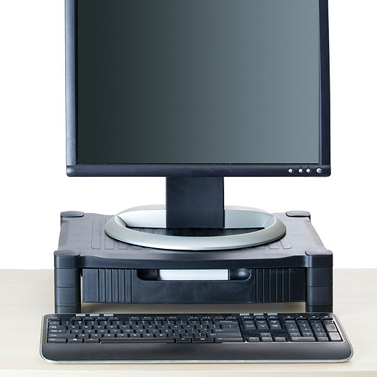 Mind Reader 'Harmonize ' Adjustable Monitor Stand with Drawer,