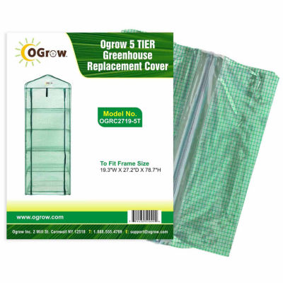 5 Tier Greenhouse Pe Replacement Cover