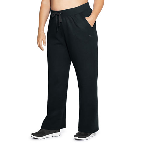 Champion Knit Workout Pants - Plus