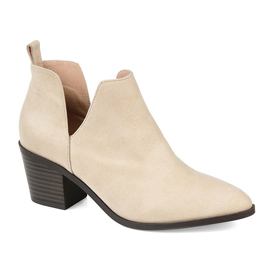 Journee Collection Womens Lola Stacked Heel Booties