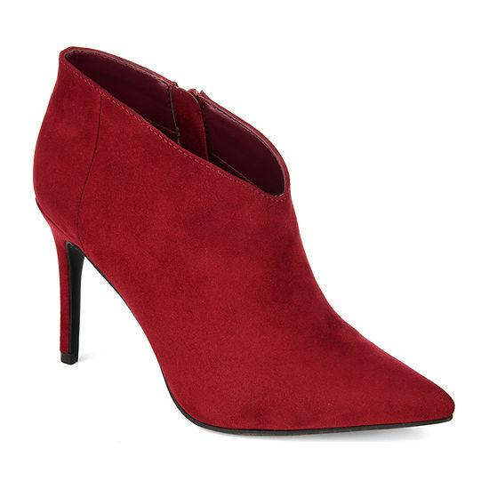 Journee Collection Womens Demmi Stiletto Heel Booties