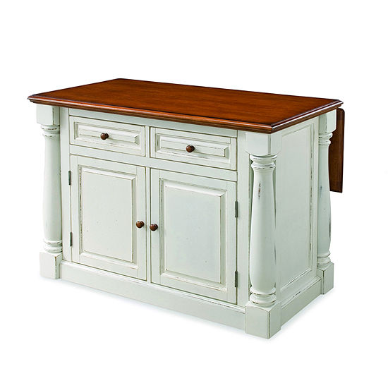 Home Styles Wood-Top Kitchen Island