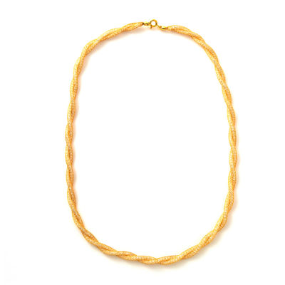 Made in Italy 10K Gold 18 Inch Link Chain Necklace