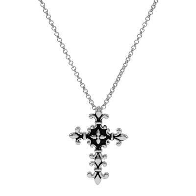 Forever Inspired Womens Cross Pendant Necklace