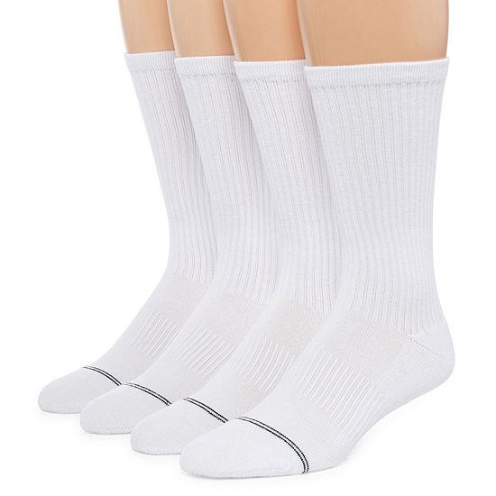 Msx By Michael Strahan 4 Pair Crew Socks-Mens